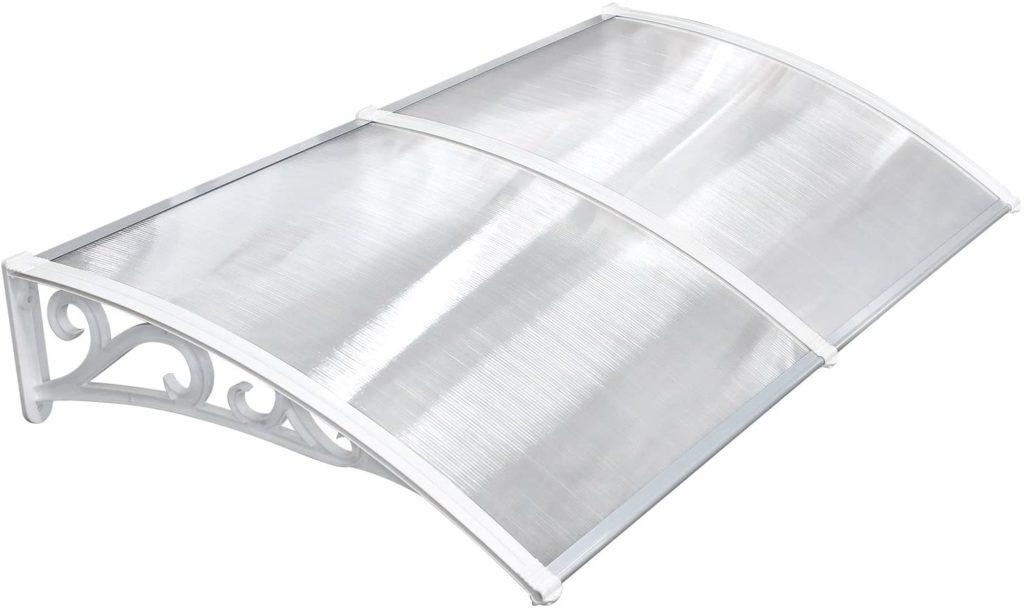 MVPOWER Marquesina para Puertas y Ventanas Tejadillo de Protección